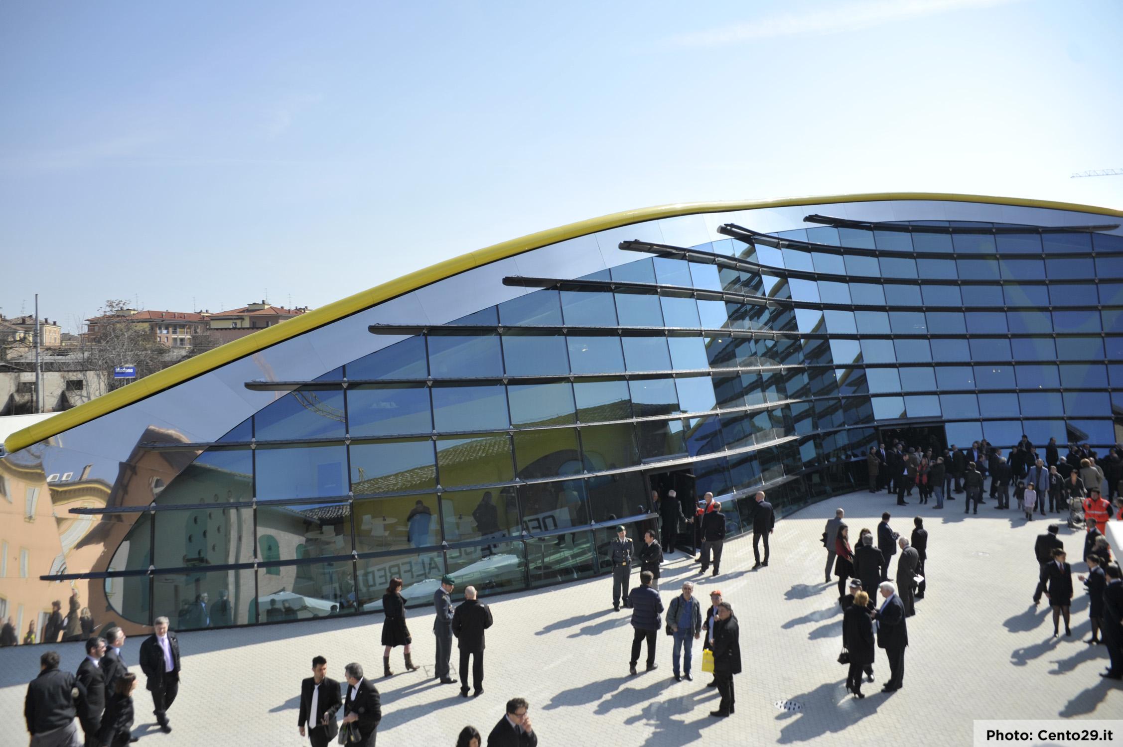 Museo Enzo Ferrari Inaugurazione 10 Marzo 2012