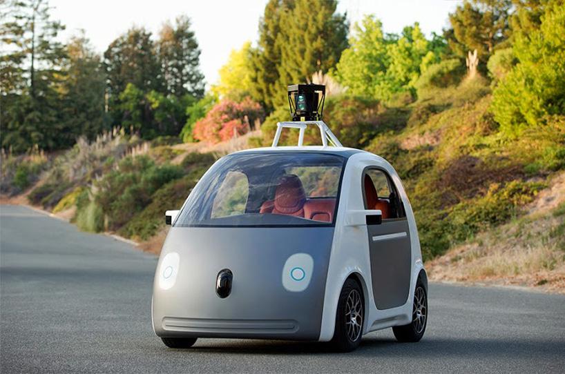 Google's Auto fährt alleine