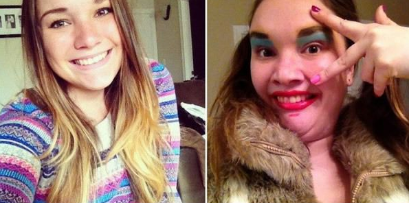 25 Beautiful Women Making Ugly Faces 1