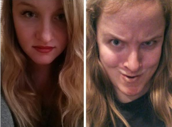 25 Beautiful Women Making Ugly Faces 4