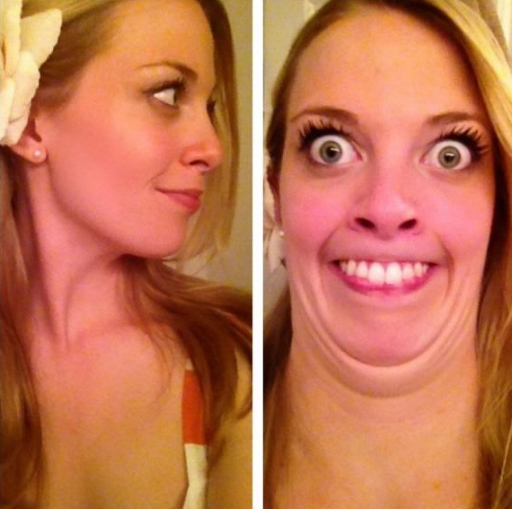 25 Beautiful Women Making Ugly Faces 5