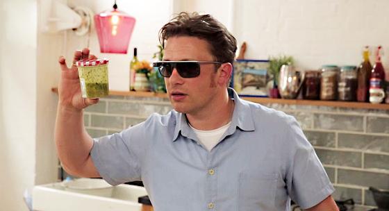 Jamie Oliver kocht mit Google Glass