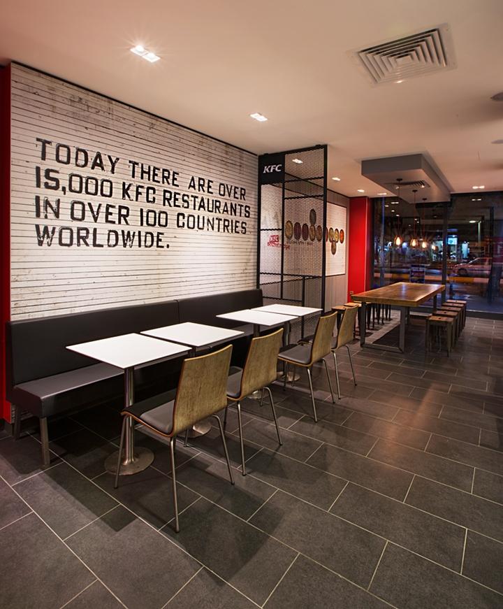 Kfc Restaurant By Cbte Mimarlik Turkey Retail Design: Design & Technik News