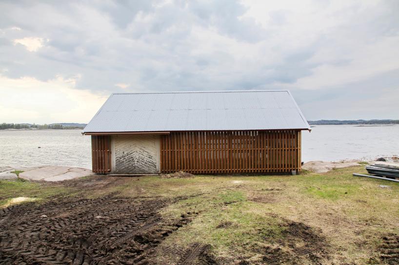 snøhetta-hudøy-boat-house-cabin-norway-designboom-03