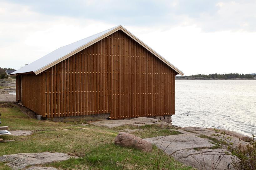 snøhetta-hudøy-boat-house-cabin-norway-designboom-08