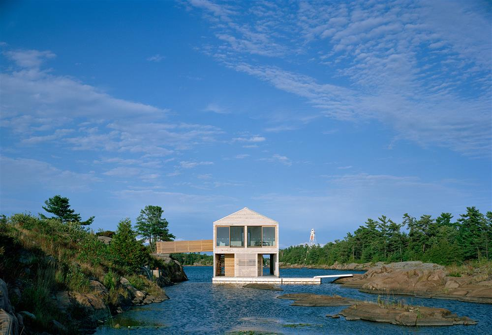 #Floating House by #MOS Office