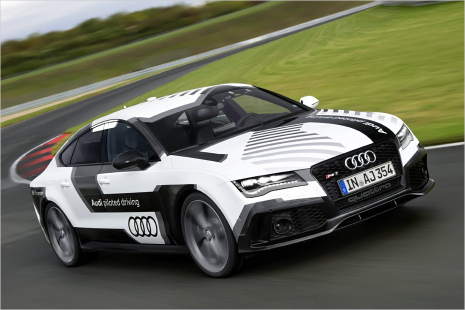 Roboter: #Audi #RS7 #Piloted Driving  //  UPDATE!