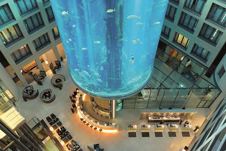 Warum nicht: #Aquadom im #Radisson