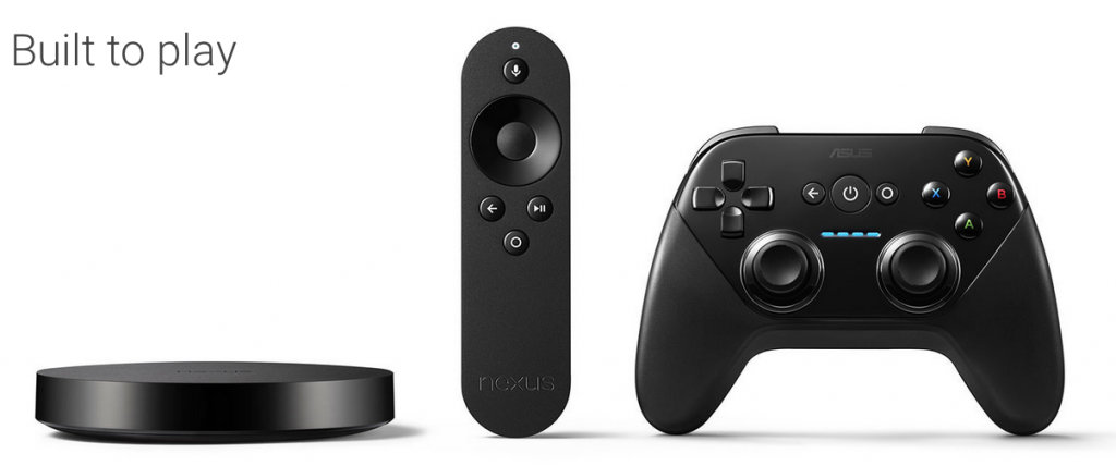 Nexus-Player-und-Controller