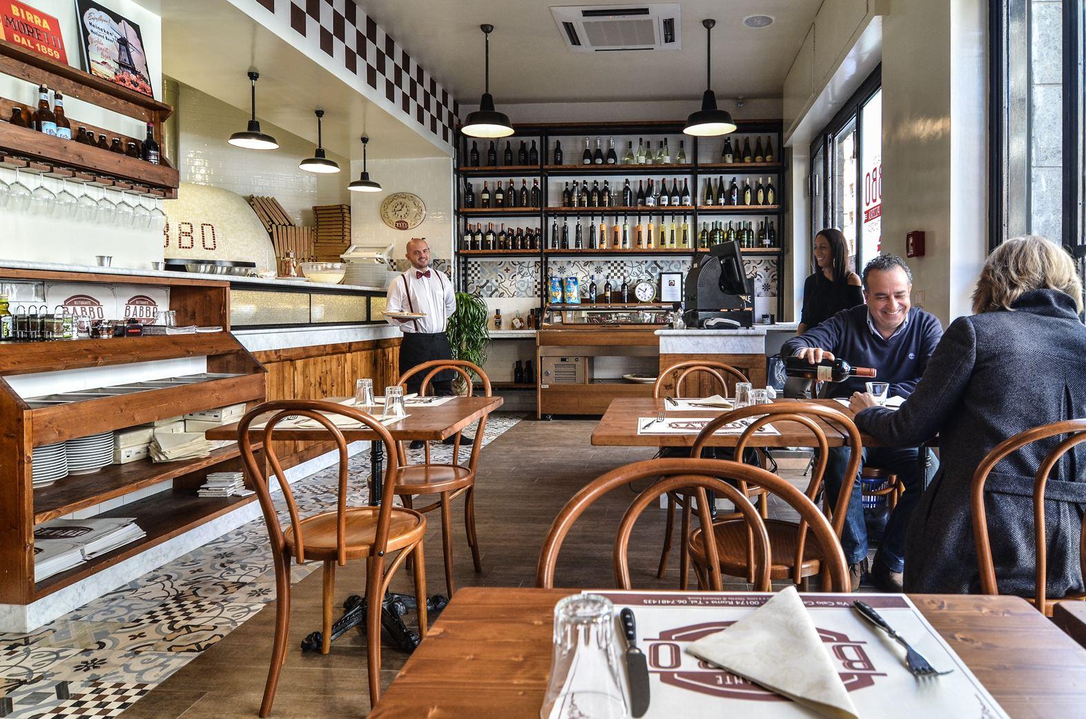 Pizzeria #Babbo in #Rom