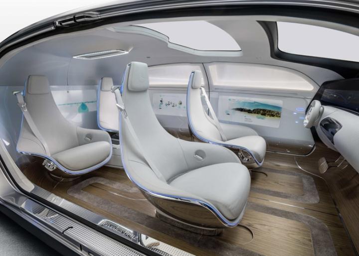 Die Zukunft: #Mercedes Benz #F015