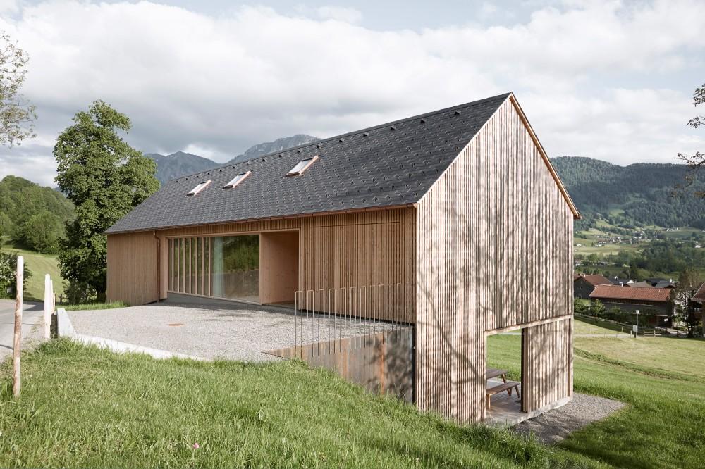 Holzhaus Architektur holzhaus in egg design technik