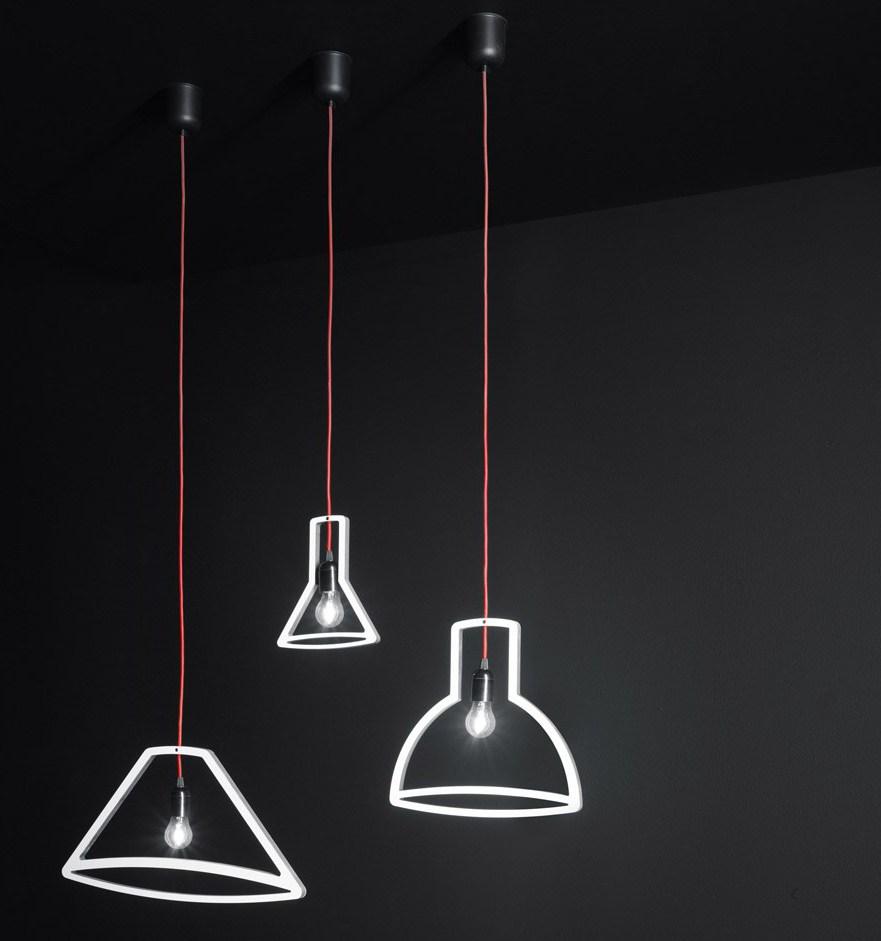#Lampen in ihrer #Form von #Boffi