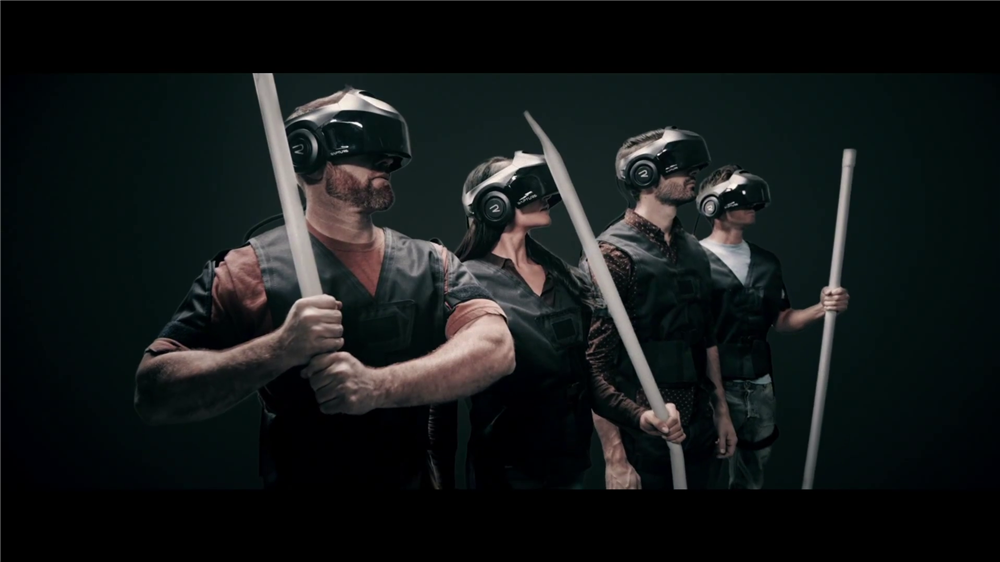 #TheVOID - #Virtual #Reality bald ziemlich real!