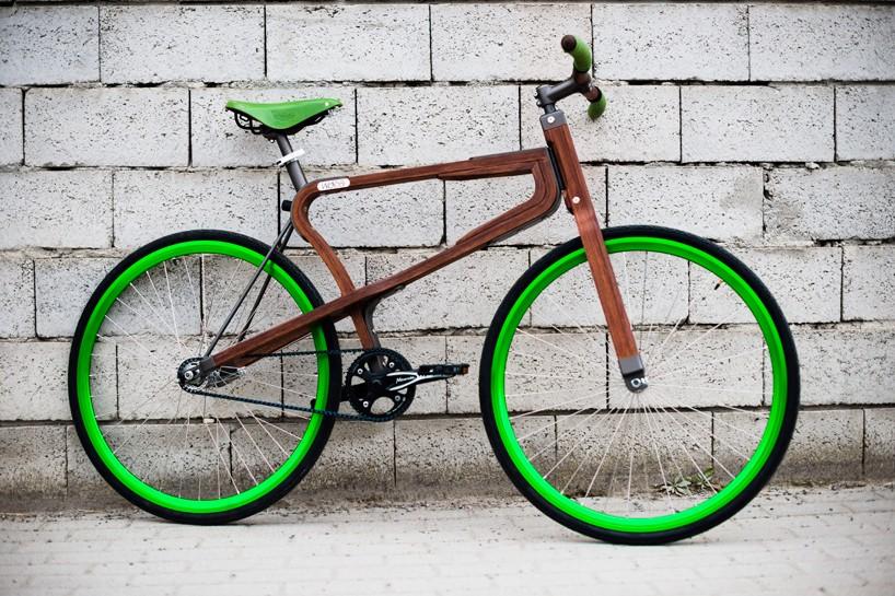 Grünes #Bike aus #Holz von #Matteo #Zugnoni