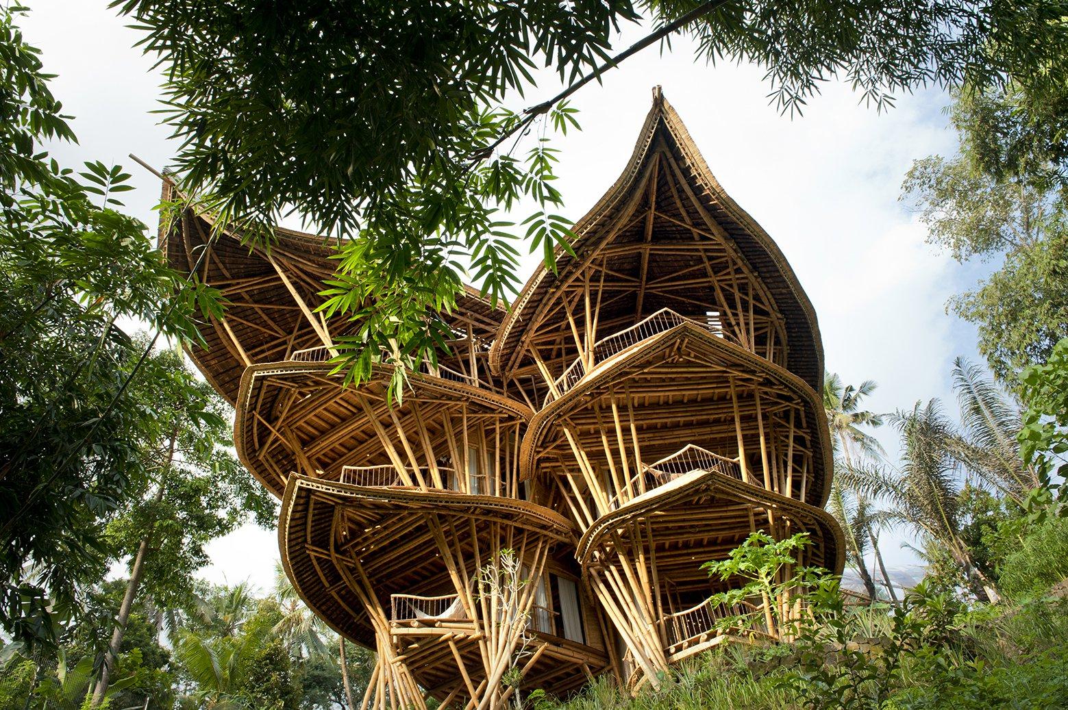 Ein #Baumhaus in #Indonesien
