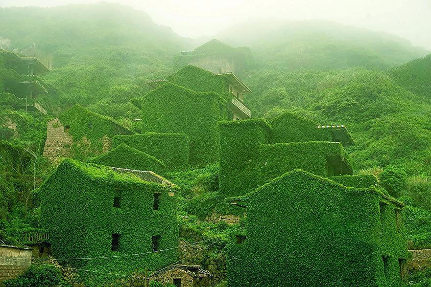 Ein verlassenes #Dorf in #China
