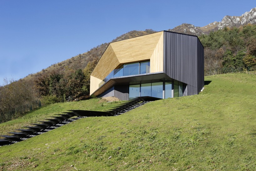#Villa in den italienischten #Alpen