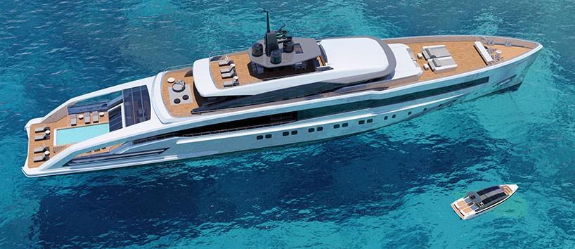 Luxusyacht: #CRN #Oceansport