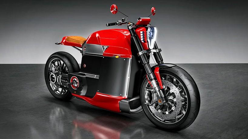 Wenn #Tesla ein #Motorrad designen würde...