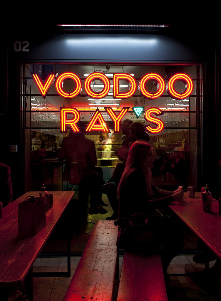 @Voodoo_Rays #Pizza in #London