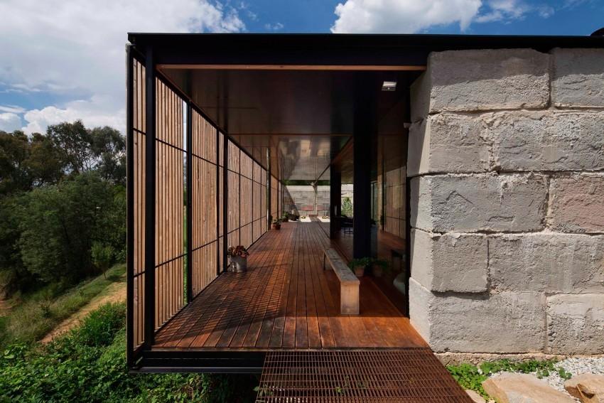 #Sawmill #House aus #Recycle #Beton