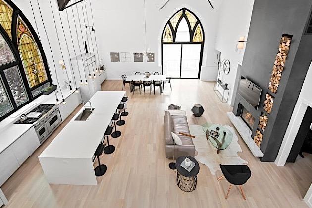 #Wohnen in einer #Kirche