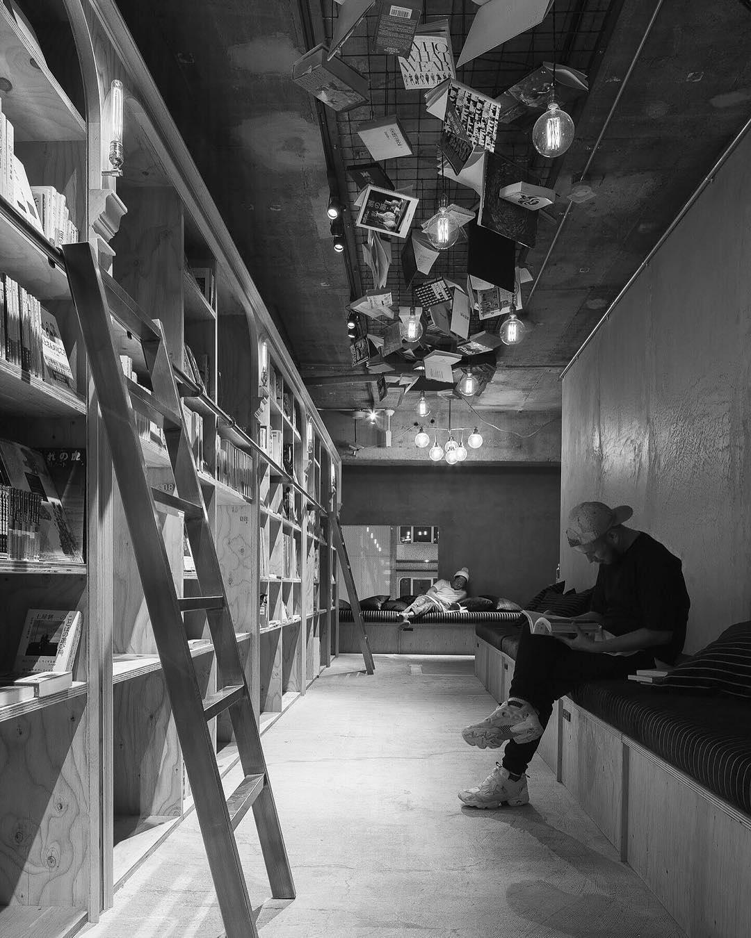 #Schlafen in der #Bibliothek