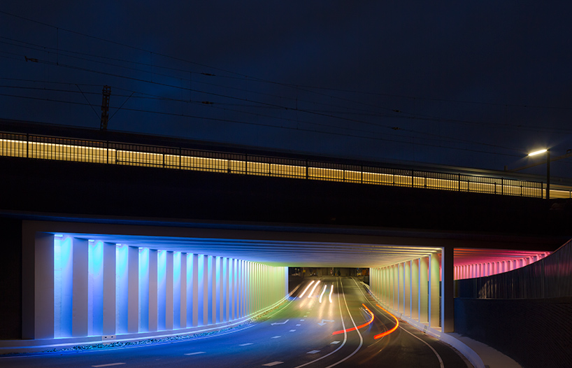 tunnel-light-installations-zutphen-herman-kuijer-designboom-01