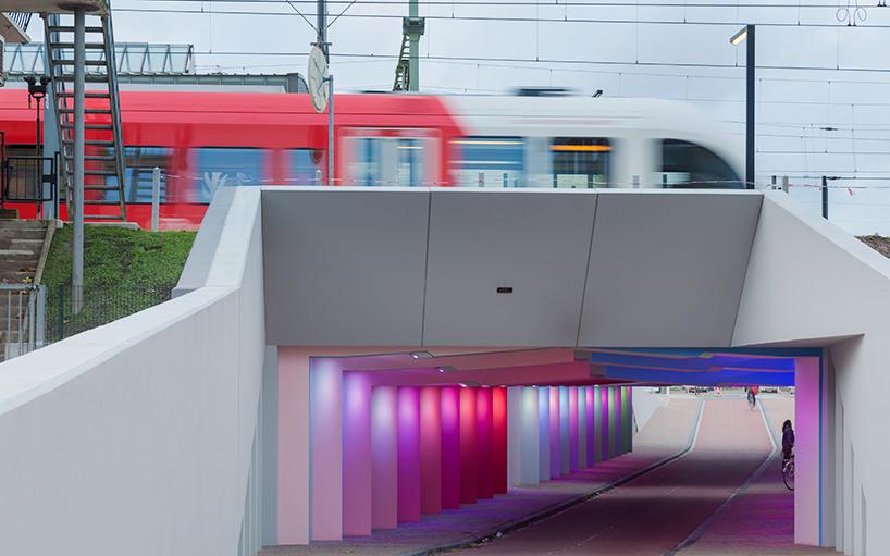 tunnel-light-installations-zutphen-herman-kuijer-designboom-02