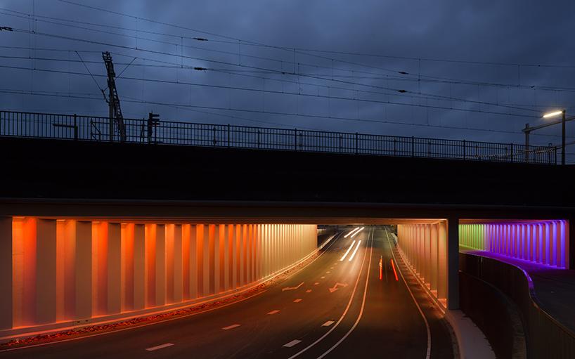 tunnel-light-installations-zutphen-herman-kuijer-designboom-04