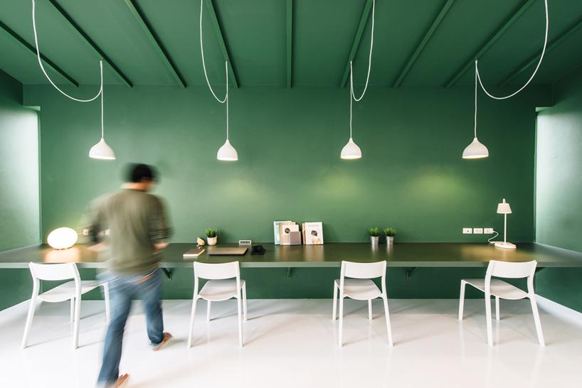 Das #grüne #Büro von #Ueasangkhomset