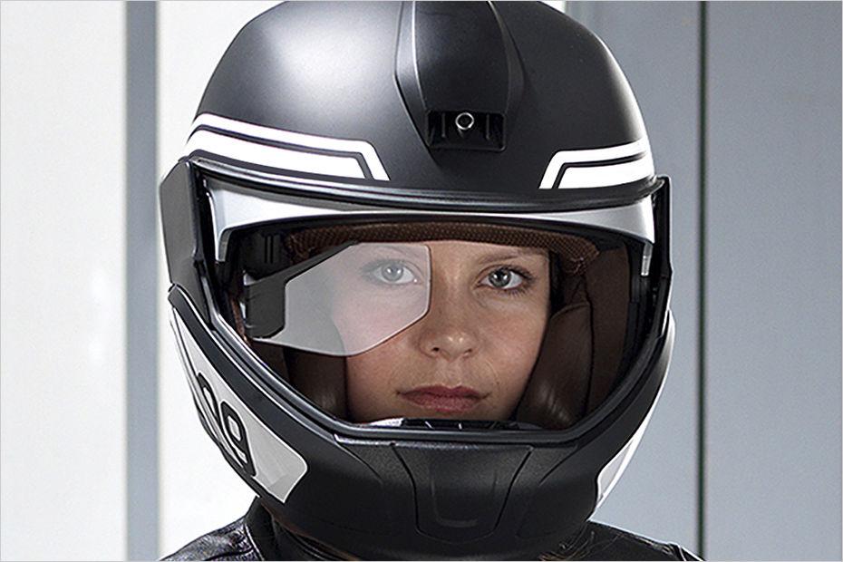 #BMW zeig #Helm mit #Display