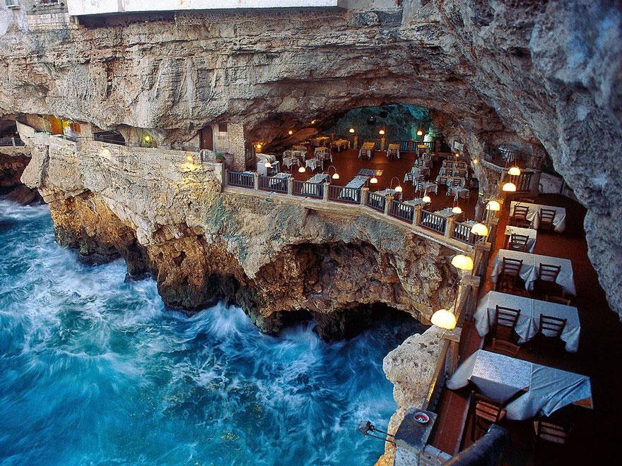 #Restaurant in der #GrottaPallazese