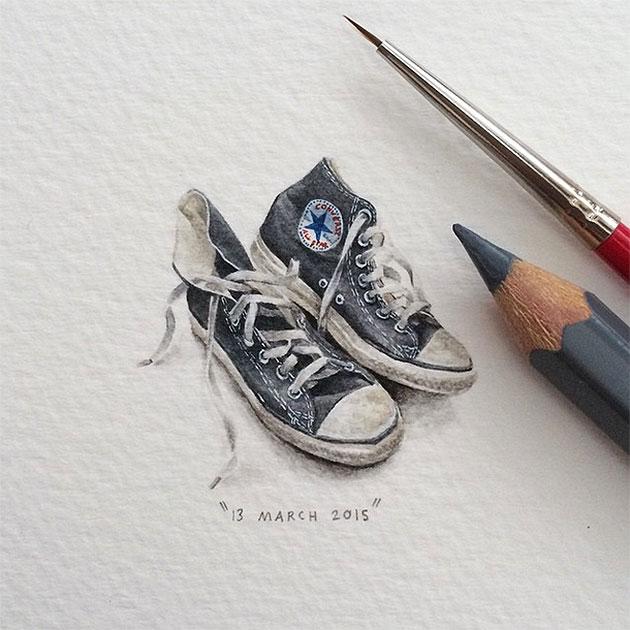 Lorraine Loots Minimalereien