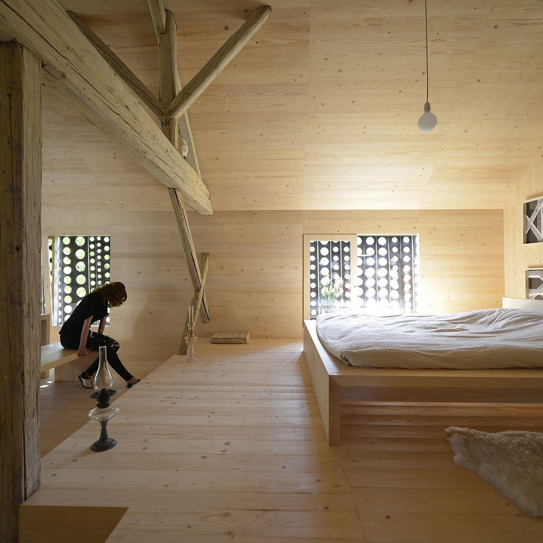 Alpine Hütte in Slowenien