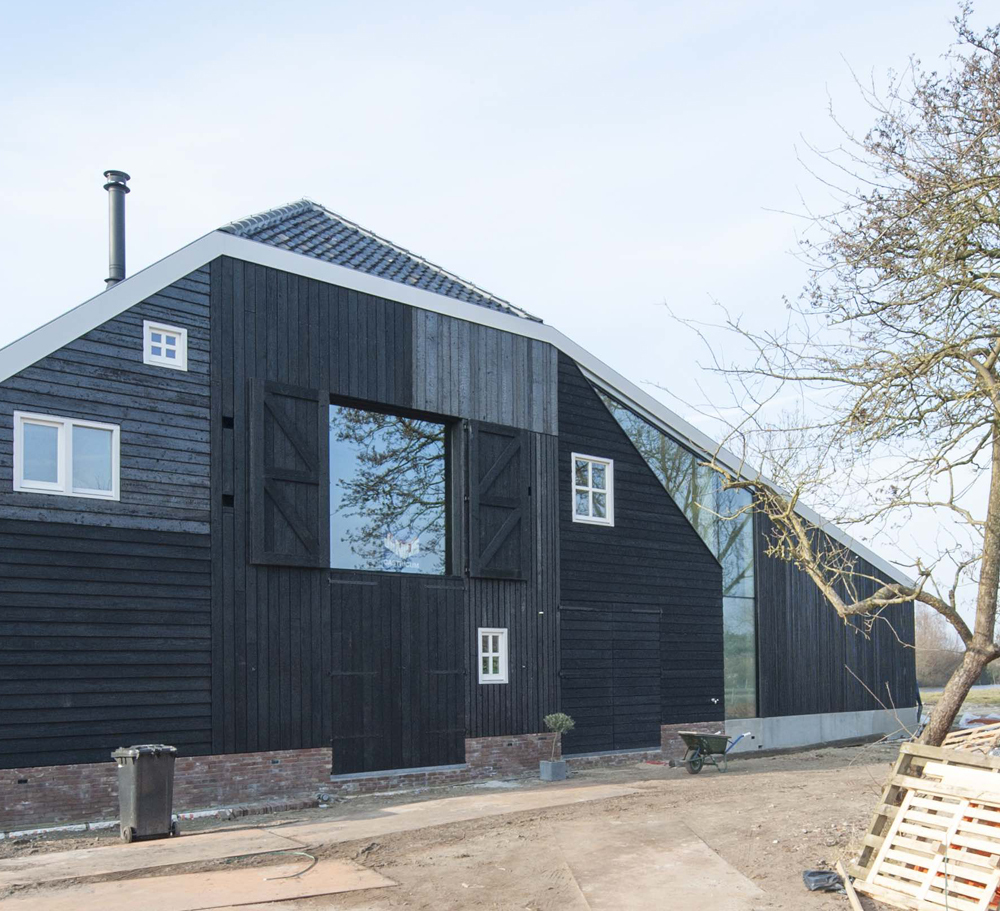 Villa Jisp in Holland