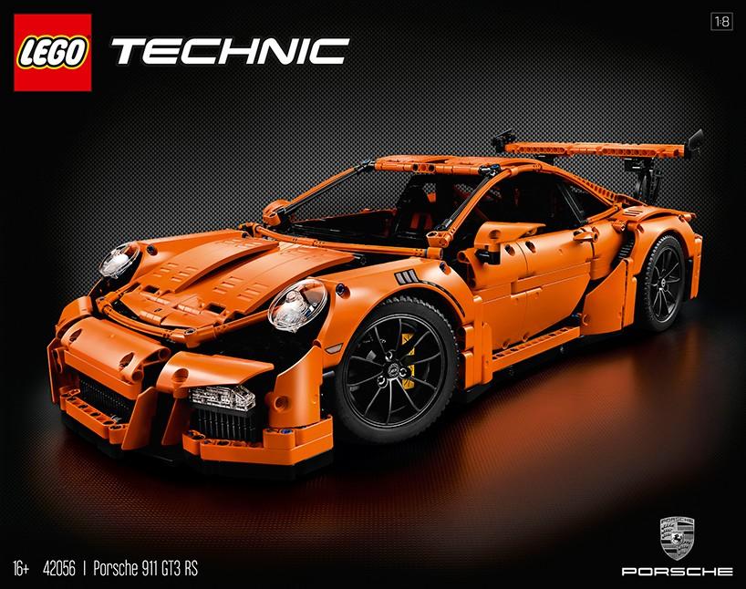 LEGO: Porsche GT-3 RS