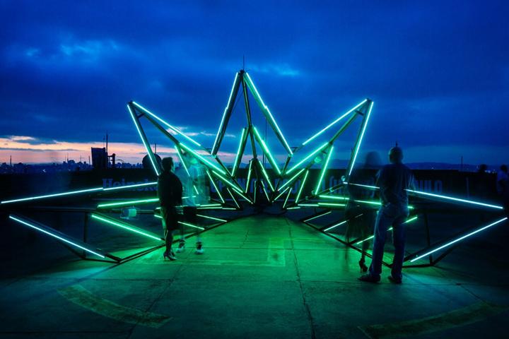 Sensitive Star Installation in Brasilien