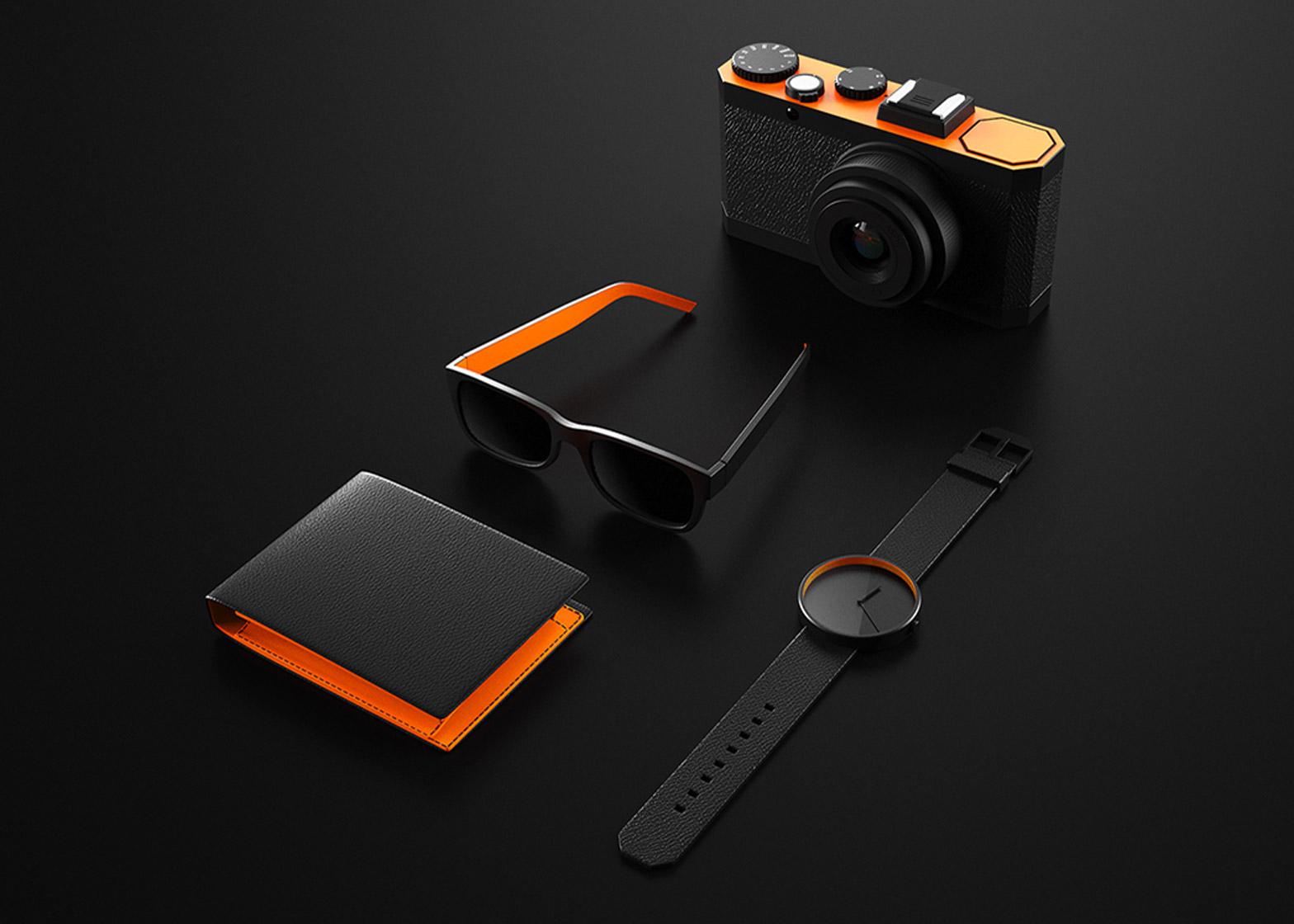Ion Lucin's Design ist Schwarz-Orange
