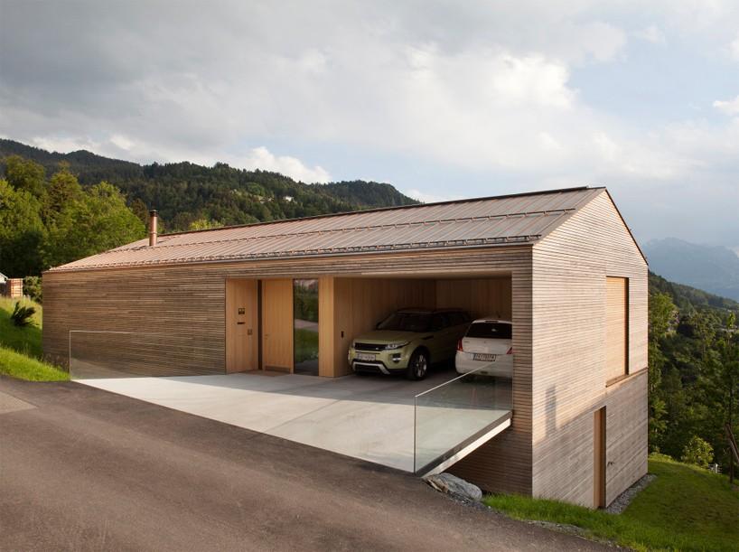 Austrianische Villa am Berg
