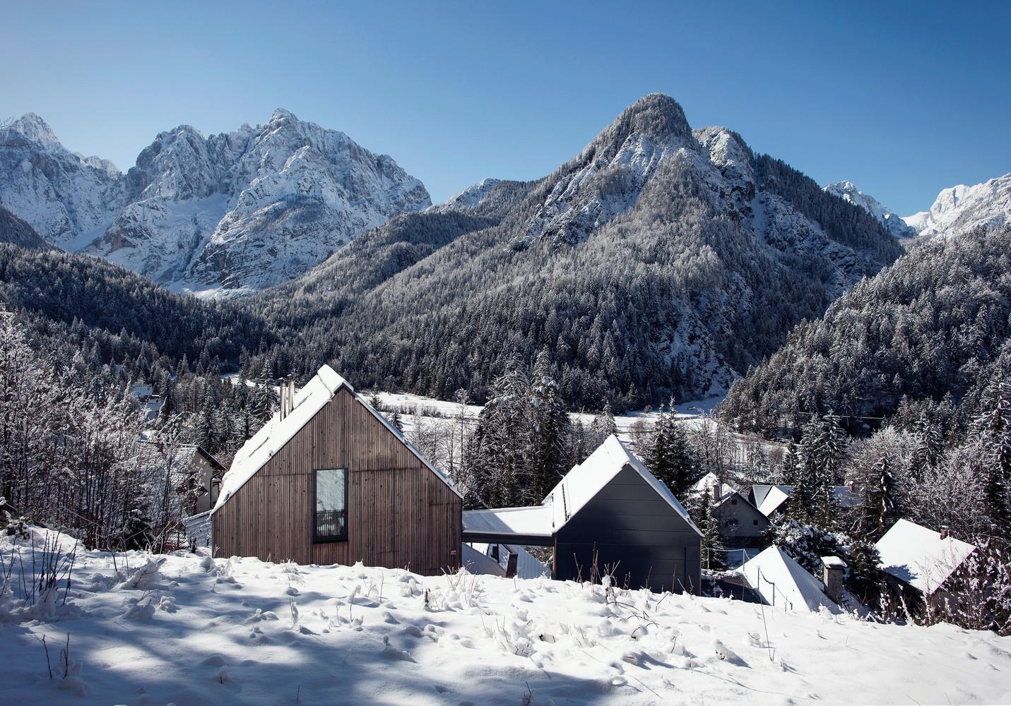 Schnee Villa in Kranjska