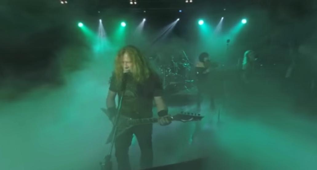 Megadeth LIVE in 360 Grad