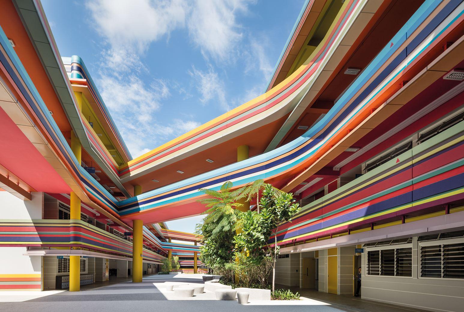 Die Nanyang Schule in Singapur