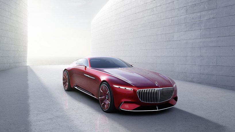 Mercedes und Maybach 6 Meter Vision