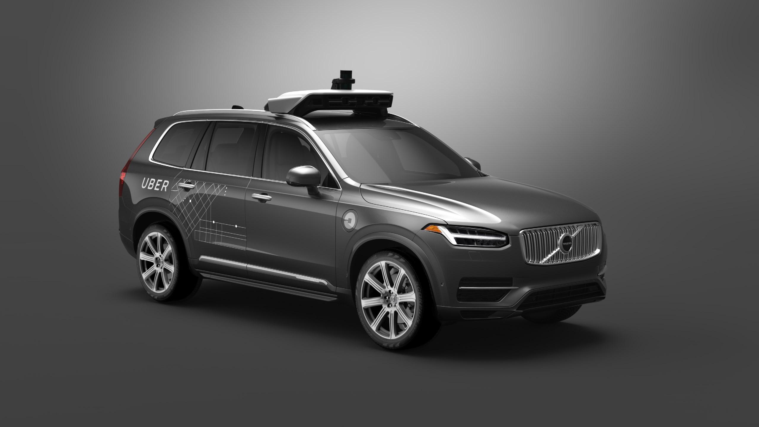Volvo und Uber testen autonome Taxis