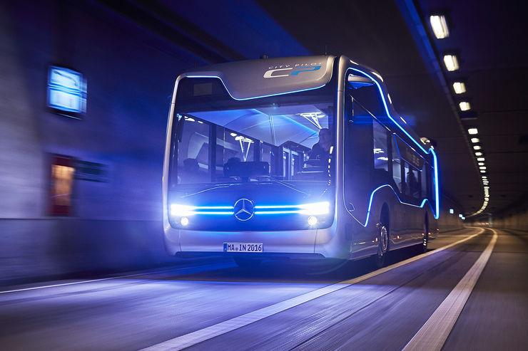 Mercedes autonomer City-Bus