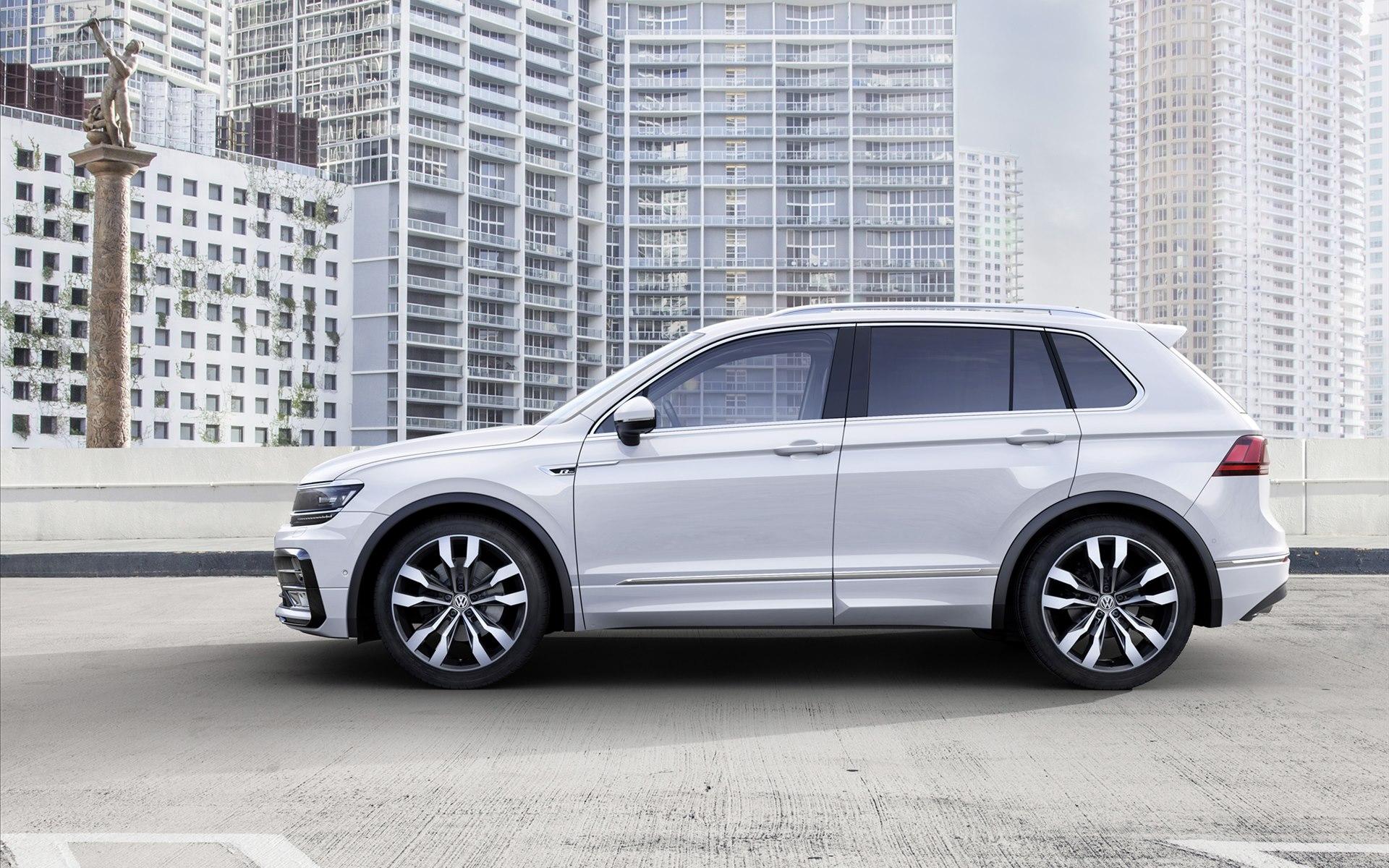 Der neue VW Tiguan R-Line