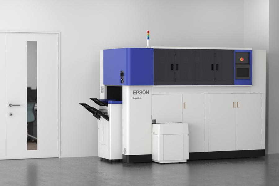 EPSON PaperLab - Papier Recycling für's Büro
