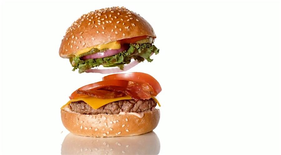 Burger-Werbevideo